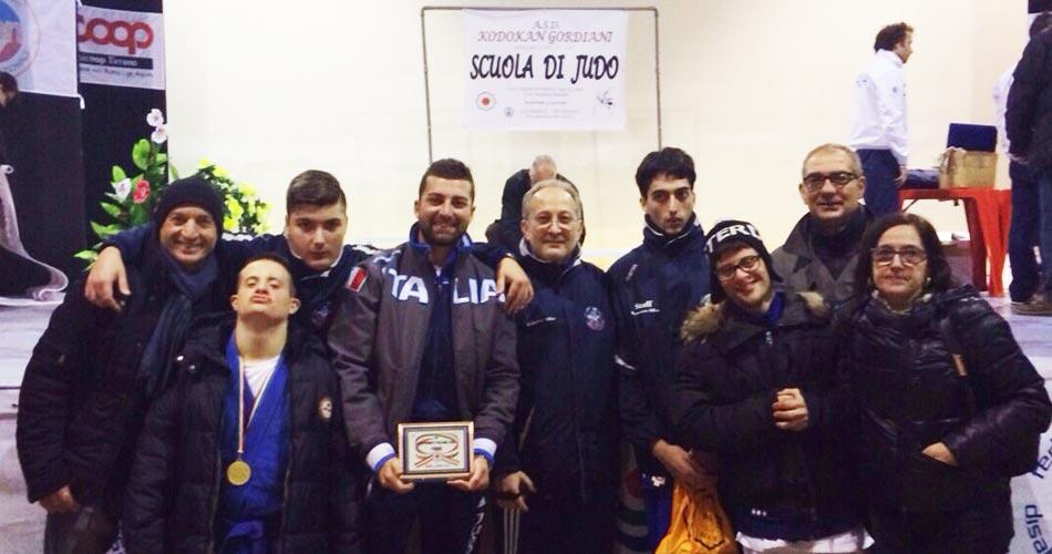 Judo, diversamente abili: tre atleti siciliani sul podio