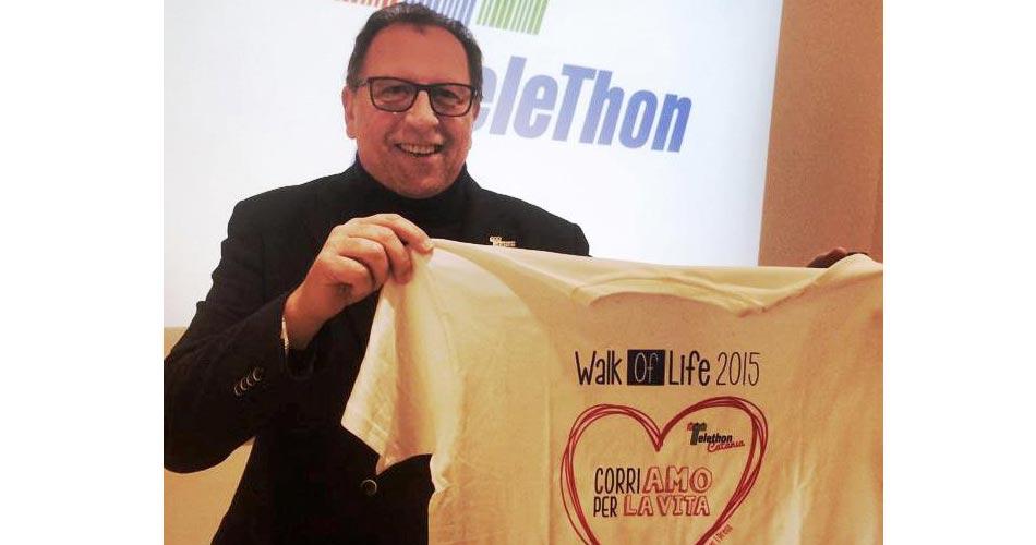 Telethon,il 12 aprile Catania corre per Matteo