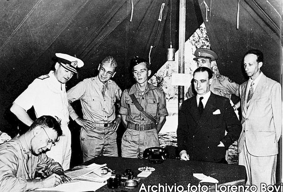Cassibile non era Cassibile. 3 settembre 1943, quella famosa firma
