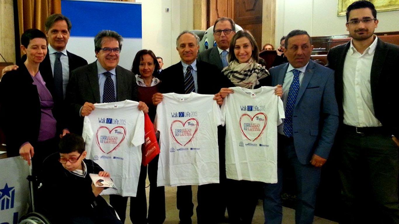 Catania. Presentate le iniziative Walk of Life 2015