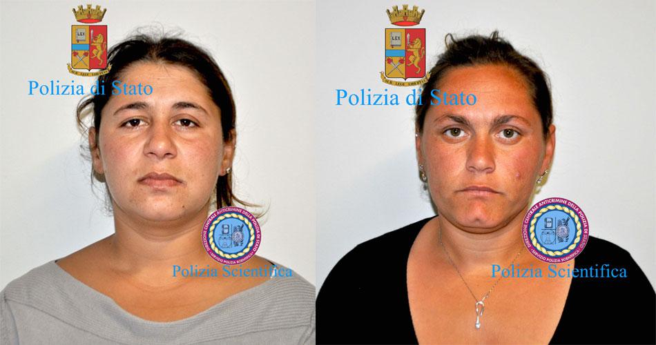 Arrestate a Comiso 2 donne di etnia rom per furto in appartamento