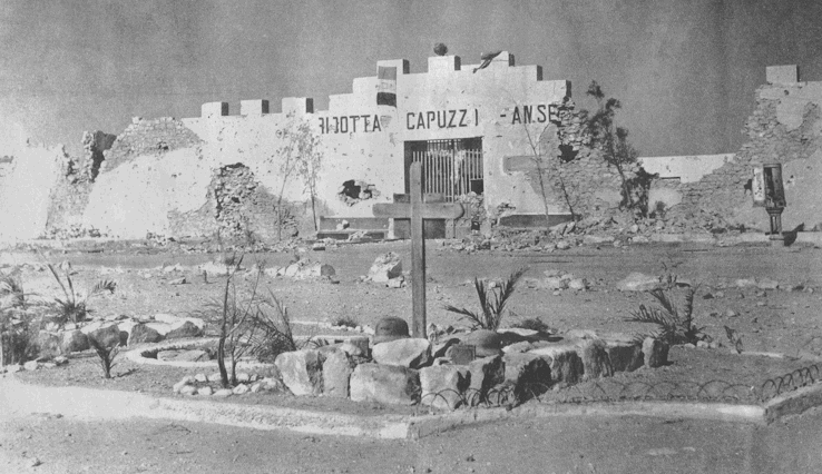Guerra d'Africa. La caduta delle ridotte al confine Libico-Egiziano. Giugno 1940