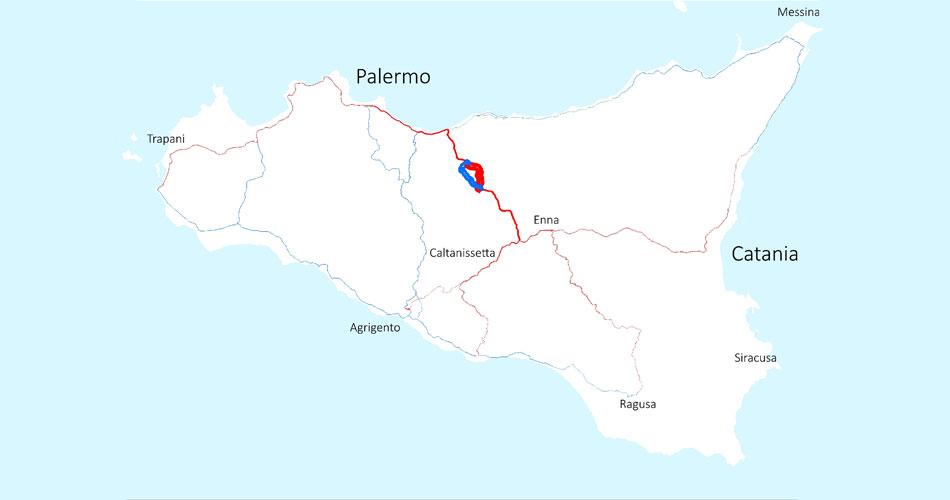 Sicilia. Oltre 18 milioni annui di danni da chiusura A19 per il cedimento del viadotto Himera