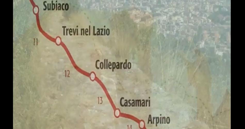 Il cammino di San Benedetto. Da Norcia a Subiaco, fino a Montecassino