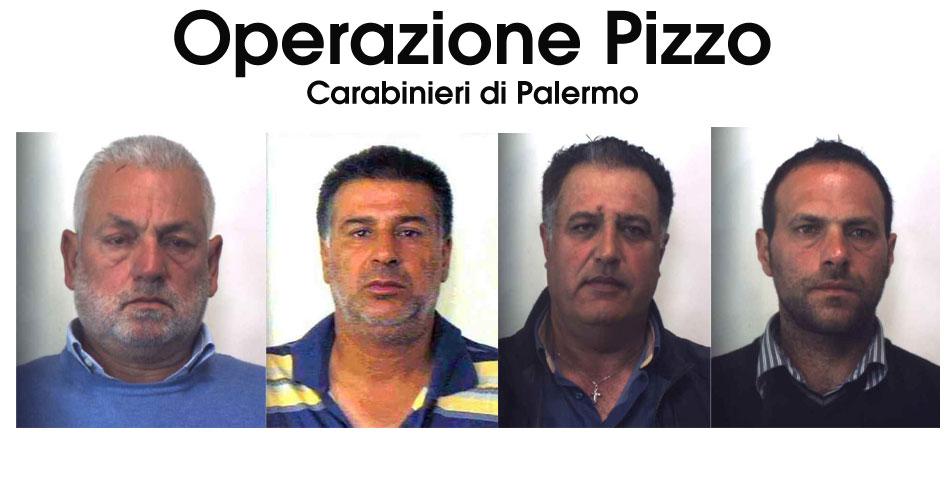 """Operazione """"Pizzo"""": Mafia, pizzo ed omicidi. Gli imprenditori parlano: 4 arresti"""
