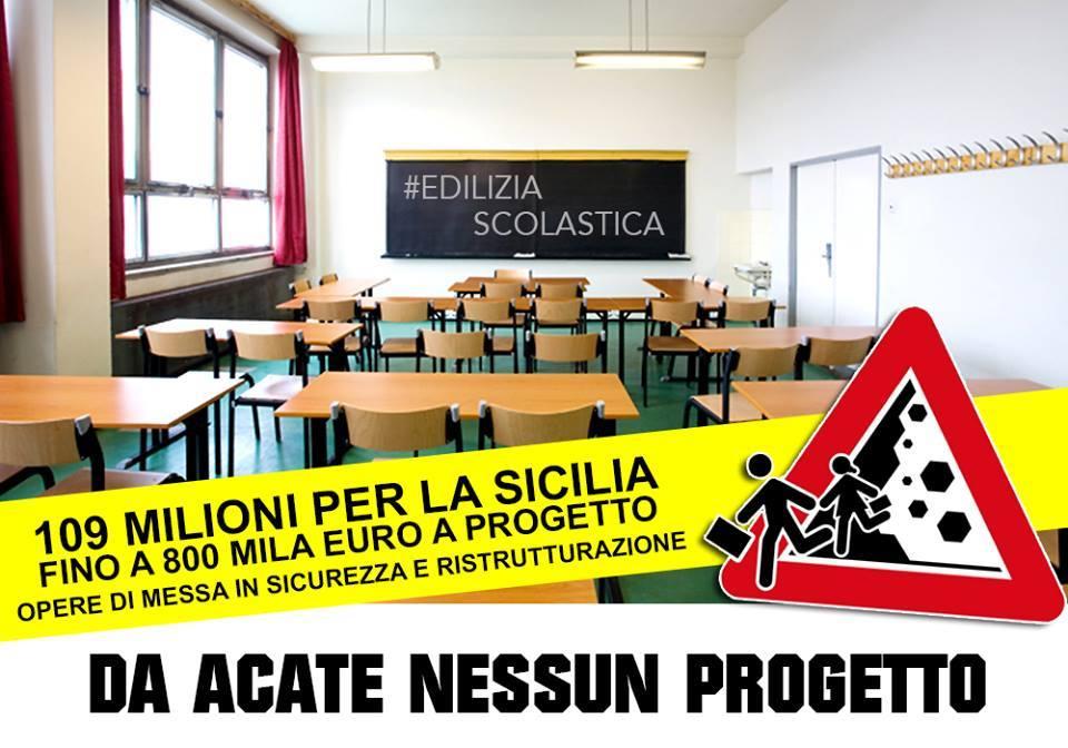 """Movimento 5 Stelle Acate: """"Edilizia scolastica, un'altra occasione persa per Acate"""". Riceviamo e pubblichiamo."""