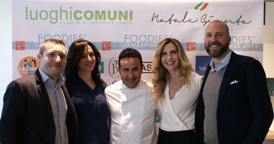 Expo: Lo chef palermitano Natale Giunta con lo studio di architettura luoghiCOMUNi per il Foodies'Challenge