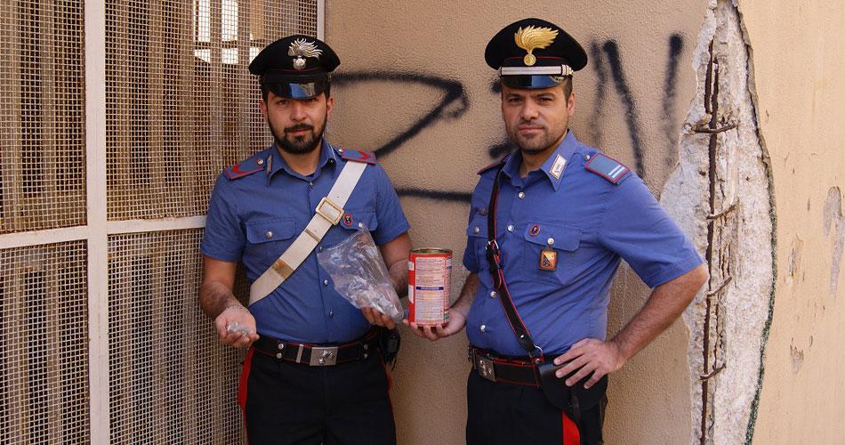 """Palermo. Spaccio di hashish e marijuana allo """"Zen 2"""". Carabinieri arrestano due pusher in piena azione su strada"""