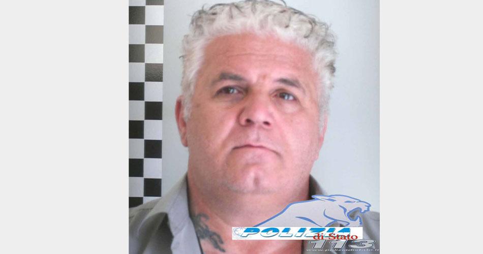 Vittoria. Arrestato dalla Polizia il noto pluripregiudicato Guarnuccio Bruno
