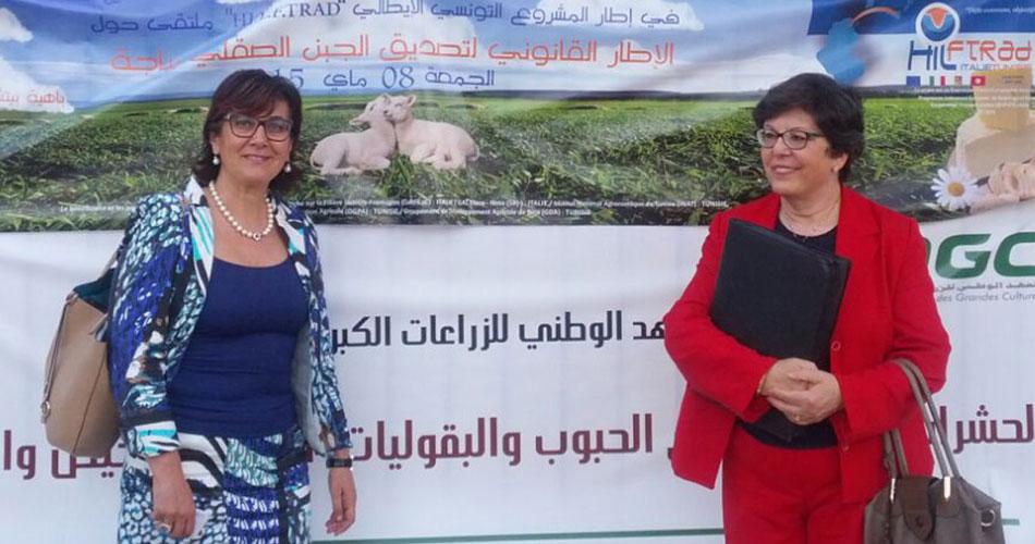 Progetto transfrontaliero Hilftrad presentato al sottosegretario all'Agricoltura e Pesca della Tunisia