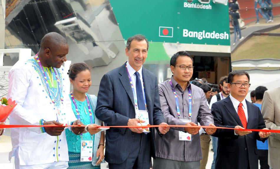 EXPO 2015. Inaugurato il Cluster del riso, alimento vitale per 3 miliardi di persone