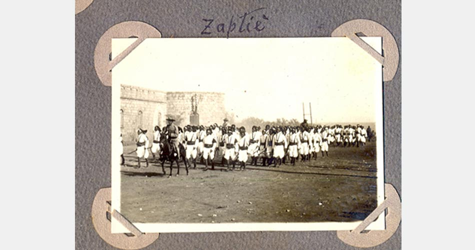 2 aprile 1912, 800 Ascari Eritrei a Siracusa