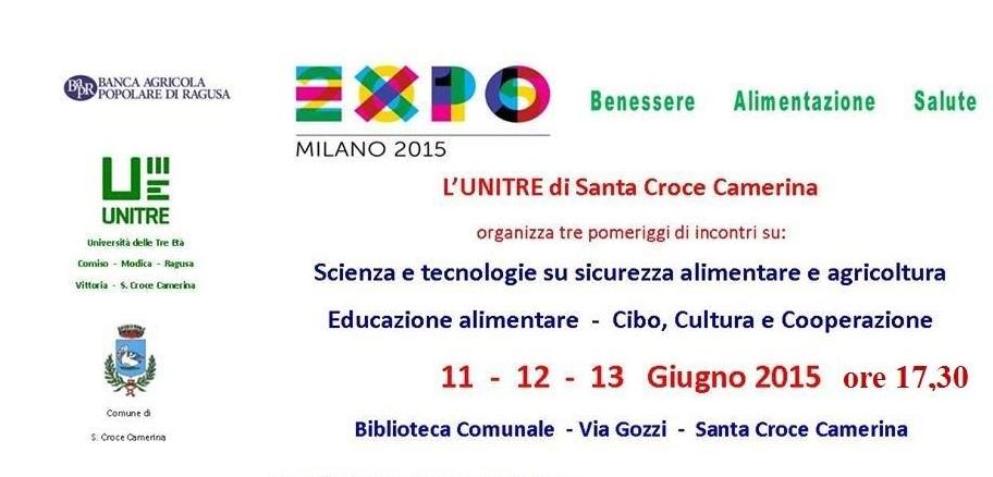 Santa Croce Camerina, l'UNITRE organizza una tre giorni per discutere di benessere, alimentazione e salute