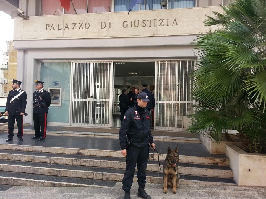 Ragusa, allarme bomba al Tribunale: il responsabile è un ex avvocato