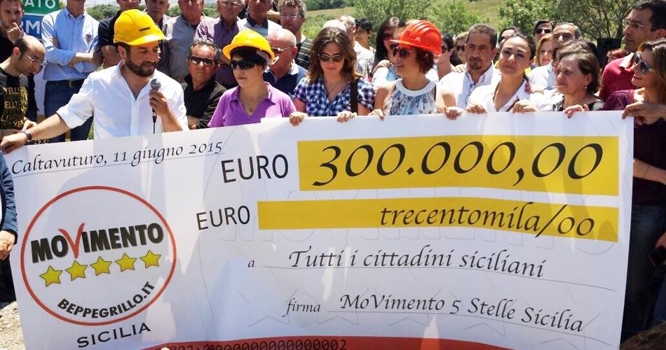 """Il M5S riaccorcia la Sicilia: """"Grazie ai deputati dell'Ars, in un mese una strada-scorciatoia che riavvicinerà Palermo e Catania"""""""