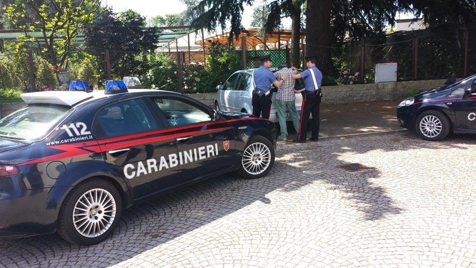 Caserta. Arrestato dai Carabinieri per maltrattamenti in famiglia.