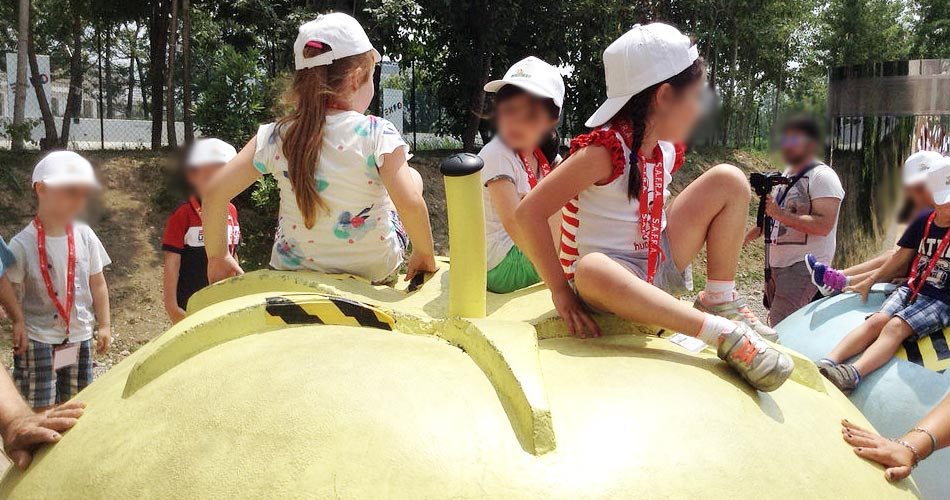 Milano, Expo. Già 40 mila bambini al Children Park: un viaggio sensoriale alla scoperta della natura attraverso 7 installazioni interattive