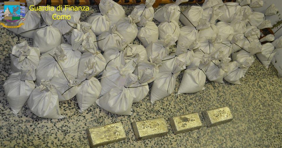 Sgominata organizzazione dedita al riciclaggio e al traffico internazionale di oro e argento