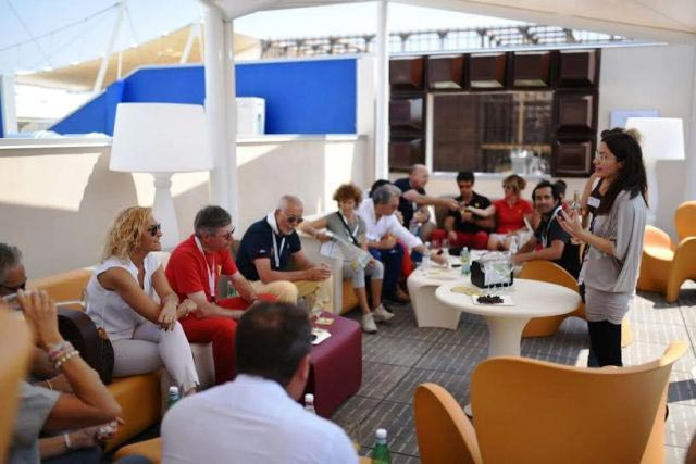 Le Ferrari del Giro d'Italia incontrano il cioccolato di Modica