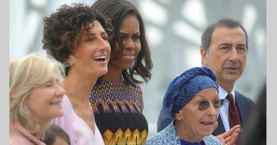 Women for Expo: Michelle Obama incontra Emma Bonino e Marta Dassù
