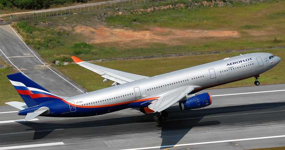 Allarme all'aeroporto di Malpensa: un Airbus dell'Aeroflot non riesce a decollare per i pneumatici sgonfi