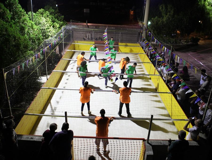 Il gusto incontra il divertimento, a Ragusa arriva il calcio balilla umano