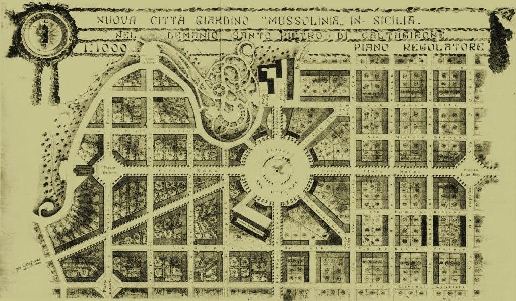 """""""La città giardino di  Mussolina"""", ovvero il sogno svanito del borgo di Santo Pietro."""