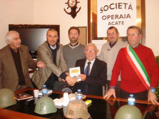 da sx Antonio Cammarana, Stefano Pepi, Domenico Anfora, Saverio Caruso , Giovanni Iacono, Franco Raffo.