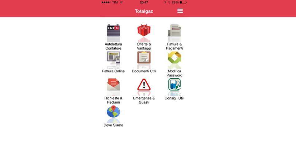 Fornitura GPL per la prima volta a portata di smartphone: Nasce l'APP Totalgaz