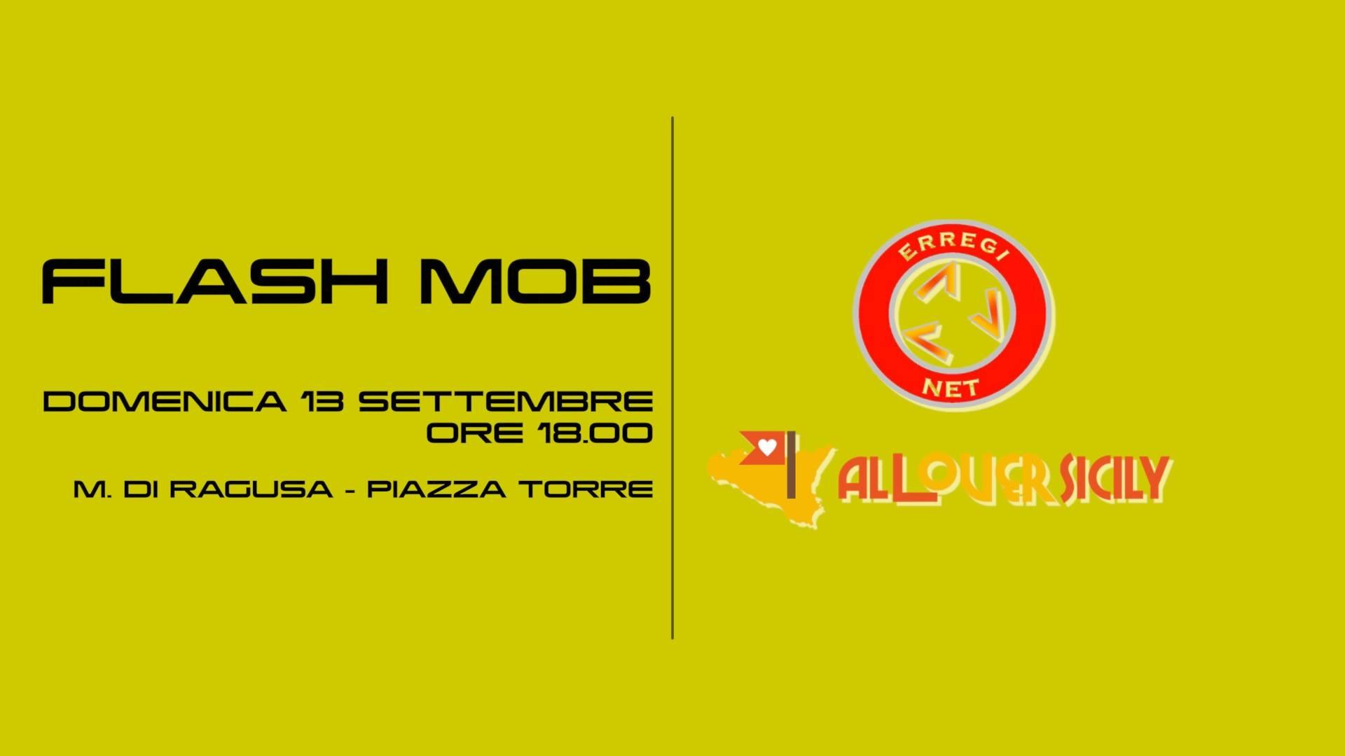 Per la valorizzazione del nostro territorio…Diamoci una mossa!! Flash Mob a Marina di Ragusa