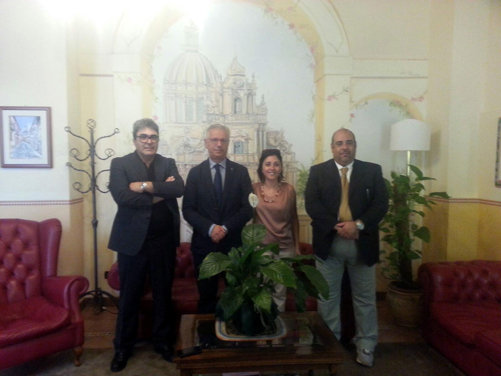 Aiuti alle imprese, a Ragusa un incontro programmatico tra la CONFARFIDI e la Banca Agricola Popolare di Ragusa