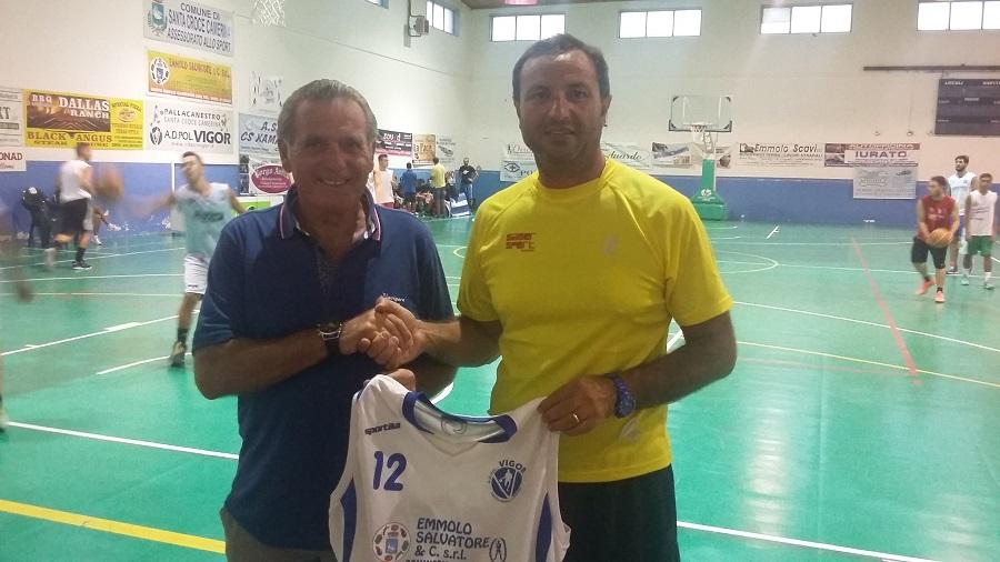 La Vigor Basket e lo sponsor Emmolo S.&C. srl insieme per un altro anno