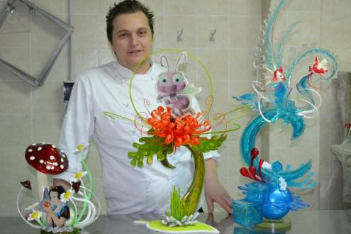 Lunedì il campione del mondo di pasticceria Emmanuele Forcone presenterà il suo ultimo libro