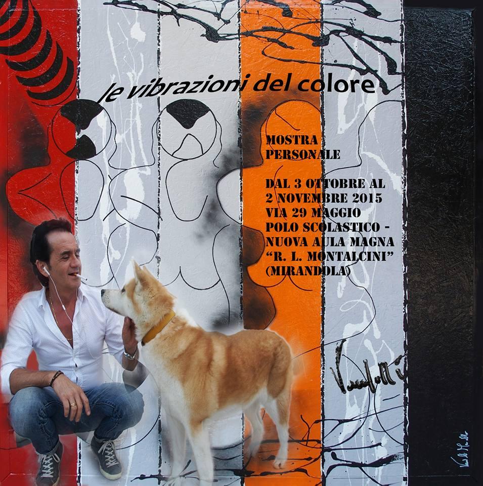 """Mirandola. Aperta fino al 2 novembre la personale di Marcello Vandelli: """"Le vibrazioni del colore""""."""