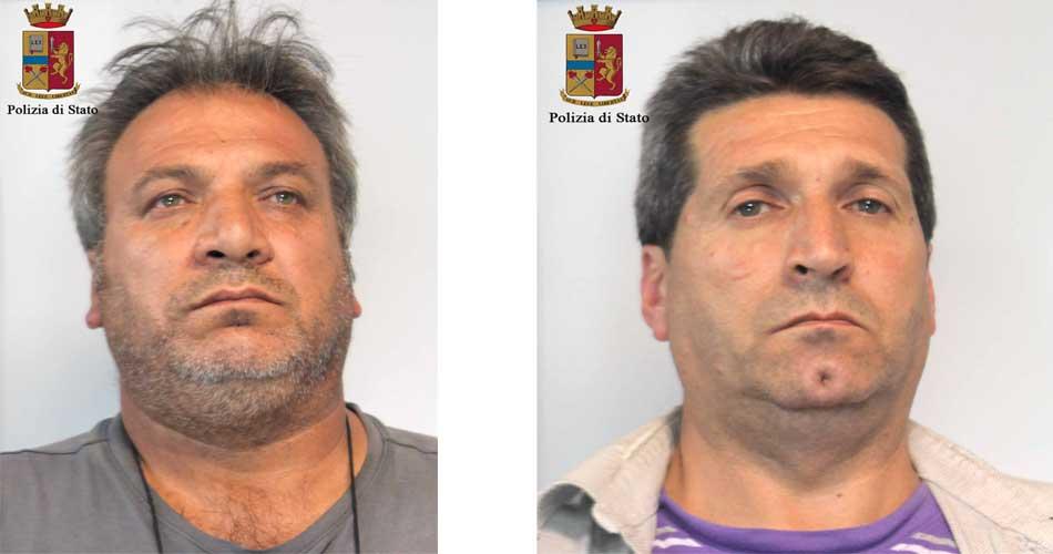 Ladri in trasferta a Ragusa per rubare pinoli. Due fratelli arrestati dalla Polizia di Stato