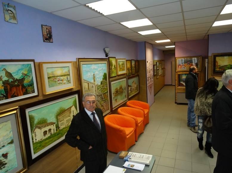 """Concordia sulla Secchia. Mostra di pittura: """"Il tempo che fù"""", dell'artista Nubes."""