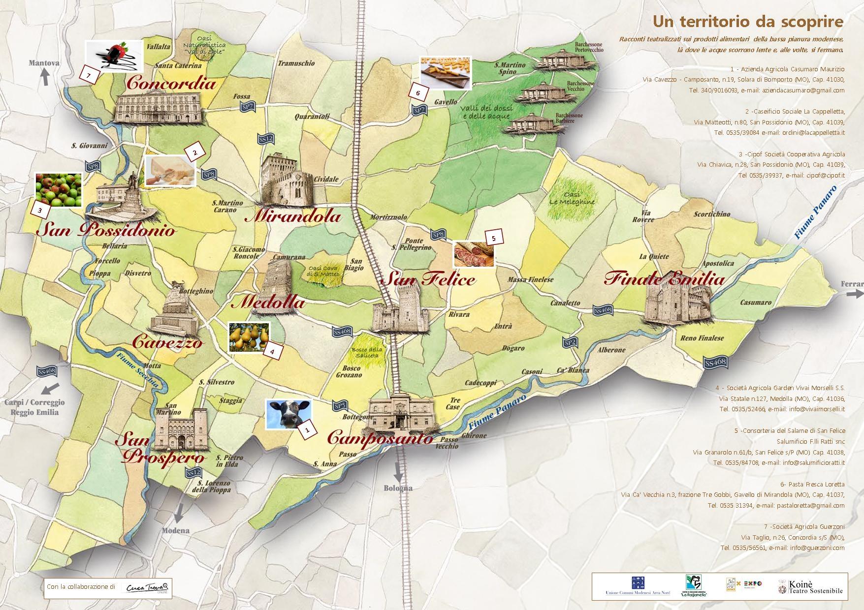 Modena. L'Unione dei Comuni a Expo 2015, dal 20 al 26 ottobre presso l'area mercato di Cascina Triulza