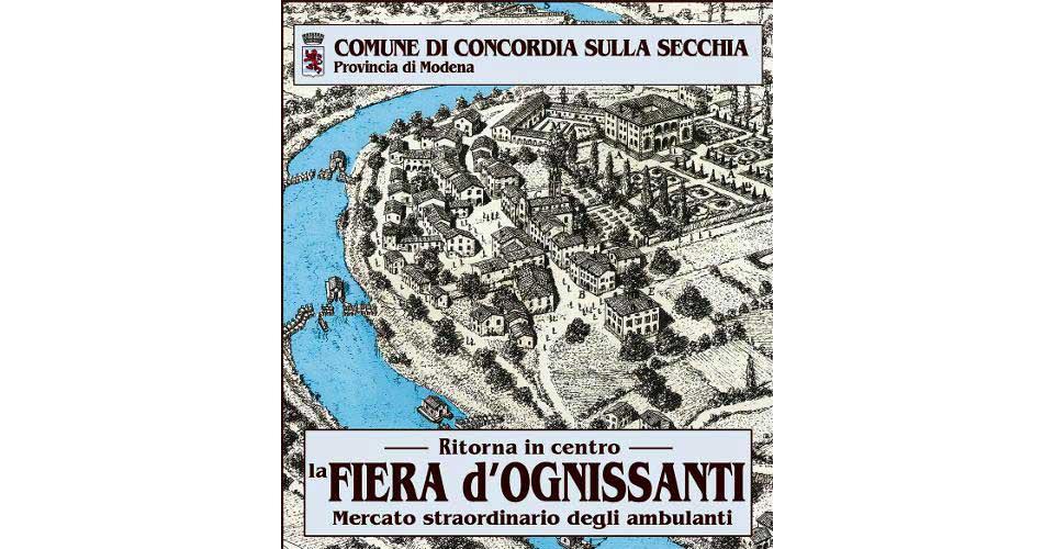 """Concordia sulla Secchia.L'Amministrazione comunale traccia un bilancio sulla Fiera d'Ognissanti: """"un importante successo frutto della collaborazione fra tanti attori""""."""