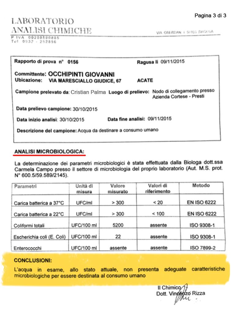Analisi acqua Archivi - ITALREPORT