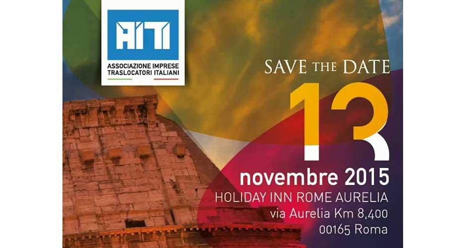 Associazione Imprese Traslocatori Italiani per il riconoscimento e la qualificazione della professione: Convegno annuale dell'A.I.T.I.