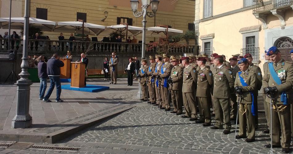 A Bracciano Festa delle Forze Armate all'insegna della Medaglia d'Oro al Valor Militare Ignazio Vian