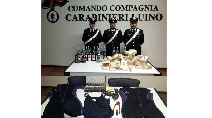 I carabinieri denunciano 3 cittadini rumeni per furto aggravato