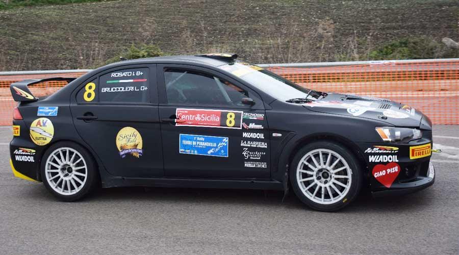 Luigi Bruccoleri e Ivan Rosato su Mitsubishi Evo X vincono il 2° Rally Day Centro Sicilia