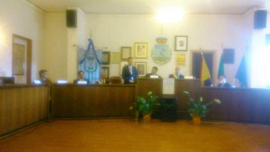 A Licodia Eubea sindaci e presidenti del consigli comunali che aderiscono al libero consorzio di Ragusa