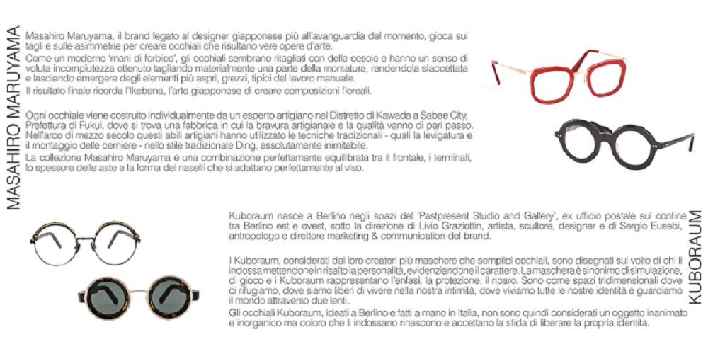 """Vittoria, nasce la """"Galleria Giuseppe Marchi"""": arte e design degli occhiali"""