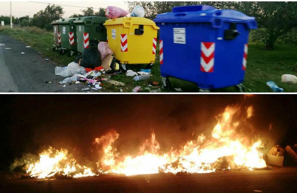 Acate. Prime reazioni ufficiali all'incendio di ieri sera di una delle tre isole ecologiche periferiche.
