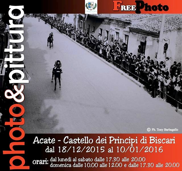 "Acate. Castello Principi di Biscari: ""Foto e pittura… in mostra""."