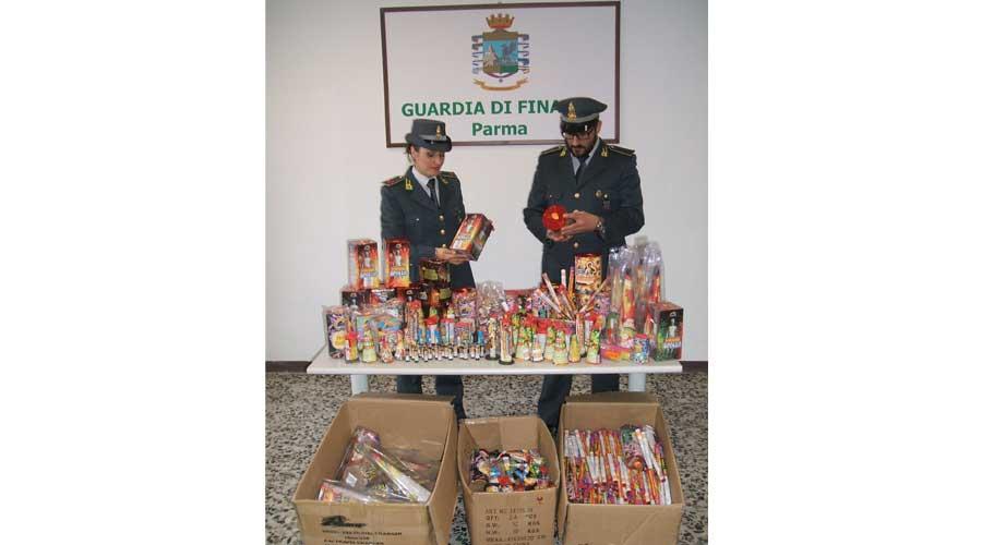 Parma. Sequestrati quasi 16 milioni di prodotti pirotecnici non sicuri
