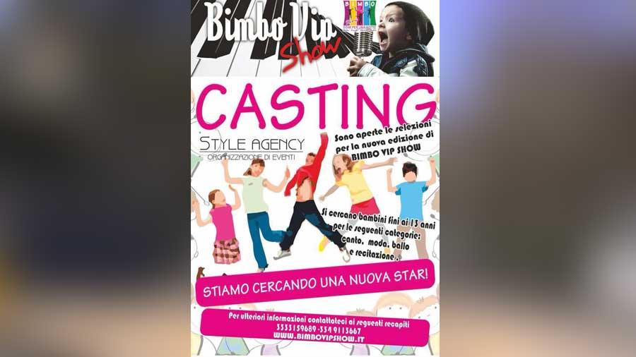 Aperti i Casting di Bimbo Vip