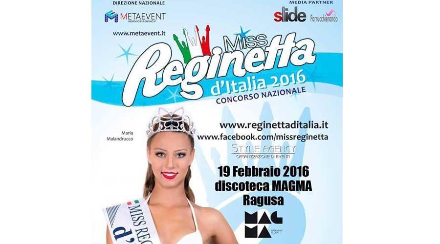 """Ragusa. Casting """"Miss Reginetta"""" 2016. Il venerdì del """"Magma"""""""